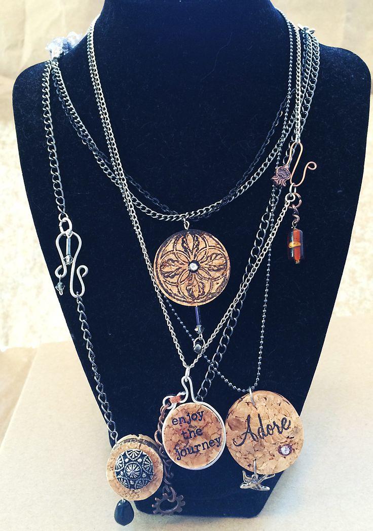 25 best ideas about cork board jewelry on pinterest for Cork necklace ideas