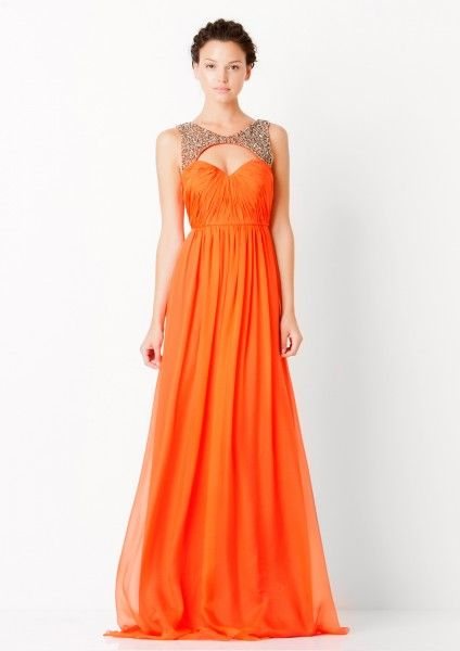 We love #orange! This #dress is so on trend and oh so #fabulous! Available at #Vivid now! For more information -   http://on.fb.me/1bYpbsO or email us at info@vividwear.com.au