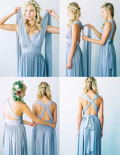 Convertible bridesmaid dress, 2015 bridesmaid dress, long bridesmaid dress, elegant bridesmaid dress, popular bridesmaid dress, bridesmaid dress, PD15011