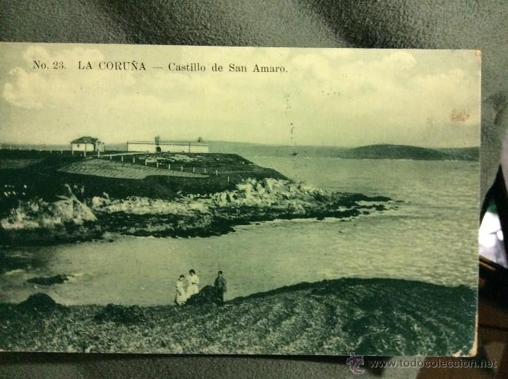 1908 Castillo de San Amaro ?