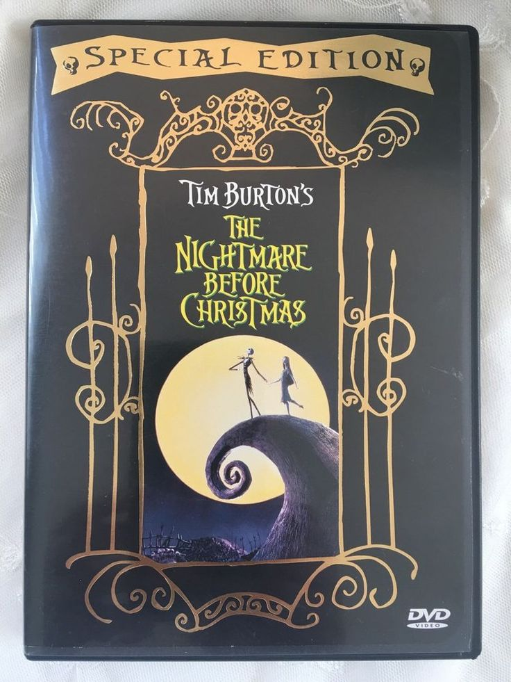 The Nightmare Before Christmas DVD Special Edition Tim Burton Classic Animation in DVDs & Movies, DVDs & Blu-ray Discs | eBay