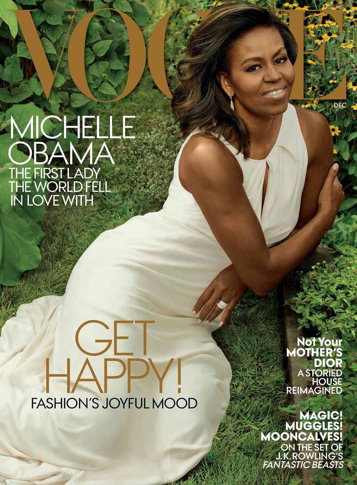 First Lady Michelle Obama's Beautiful Photoshoot for Vogue US  Shows Us She's Elegance Personified! (Nov, 2016) via @topupyourtrip