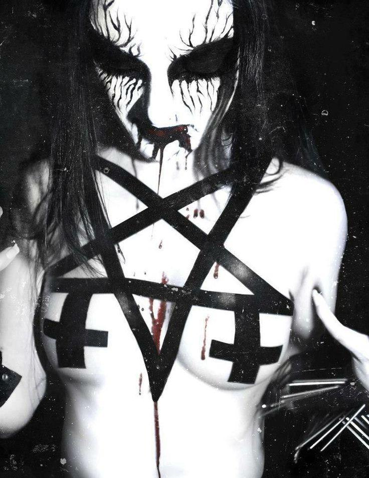 black metal naked chicks