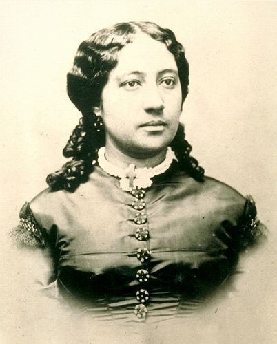 Bernice Pauahi Bishop (December 19, 1831–October 16, 1884), born Bernice Pauahi Pākī, was a Hawaiian princess, philanthropist, aliʻi, and direct descendant of the royal House of Kamehameha. She was the great-granddaughter of King Kamehameha I and last surviving heir.