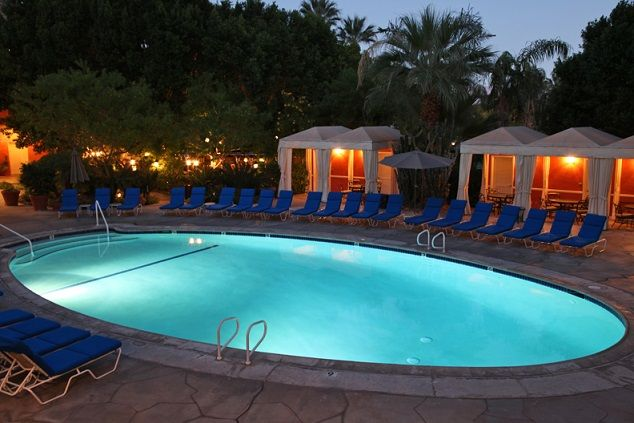 One of the 3 pools found at the Palm Springs Tennis Club, open year round! So relaxing! http://palmspringstennisclub.com/?3e3ea140