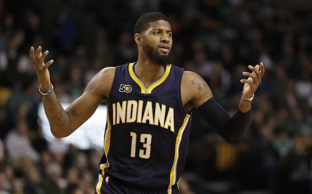 The Indiana Pacers sent Paul George to the Oklahoma City Thunder because they didn't want to give him what he wanted and send him to the Lakers