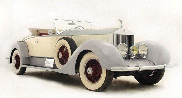 1927 Rolls Royce Owned By Legendary Hollywood Cowboy Tom