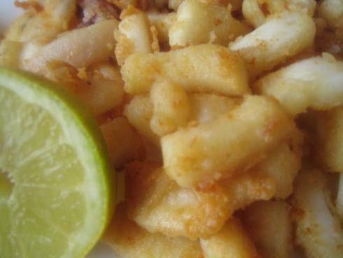 Calamares al ajilloCalamares Al, Recipe, Cocina Mariscos, Al Ajillo, Aprender Cocina, Fish, De Ajo, Kitchen, Teeth