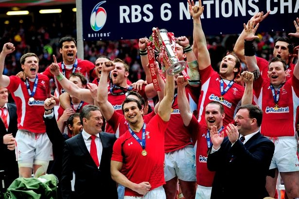 Wales win the Six Nations 2012