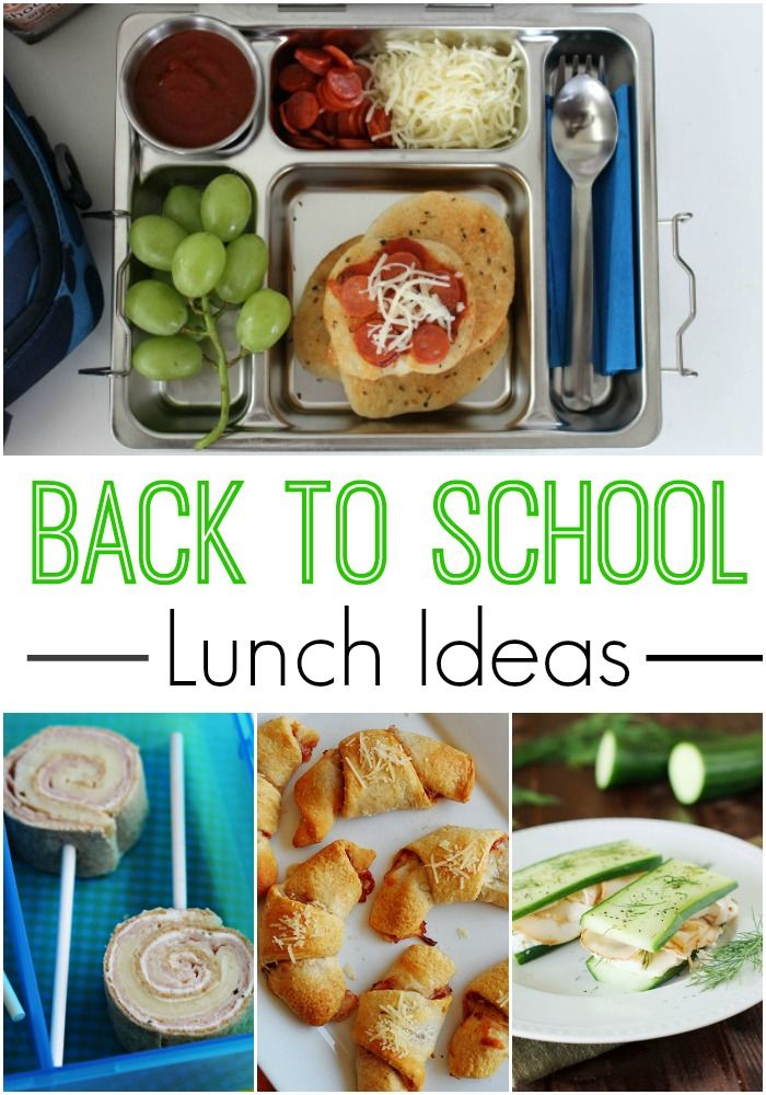 25 best images about school snacks on pinterest no bake for Lunch food ideas