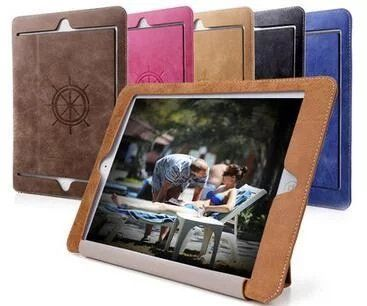 New Fashion PU Leather Cover for Apple iPad Mini 1 2 3 Case Cover for iPad Mini 4 Tablet Case+screen film+Pen+OTG Free ship