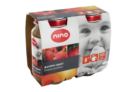 www.ontverpia.nl - Design logo and packaging for Nino baby food