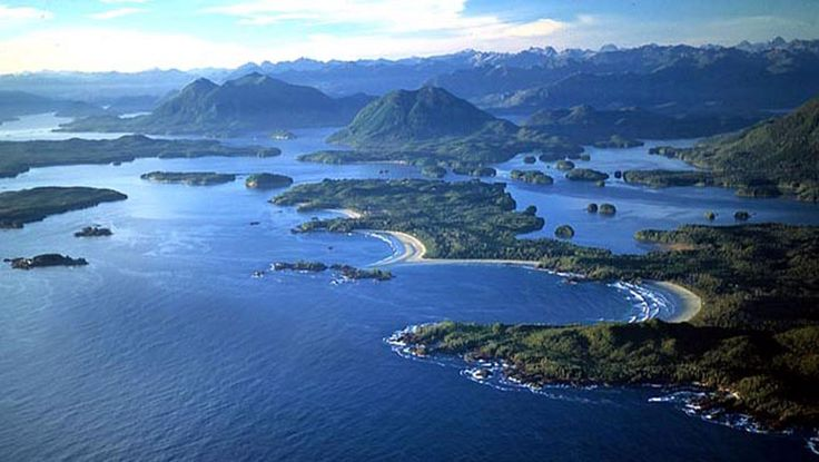 Tofino idilliaco paesino sulla costa occidentale dell'Isola di Vancouver, di cui d'estate è forse la meta principale per i turisti.