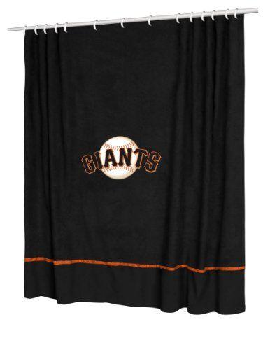 San Francisco Giants COMBO Shower Curtain & Valance/Drape Set (Drapes Size 82 X 63) - Decorate Your Shower and Bathroom Window & SAVE ON BUNDLING! Sports Coverage,http://www.amazon.com/dp/B009YJIF6E/ref=cm_sw_r_pi_dp_THyvsb1FDCHAE85N