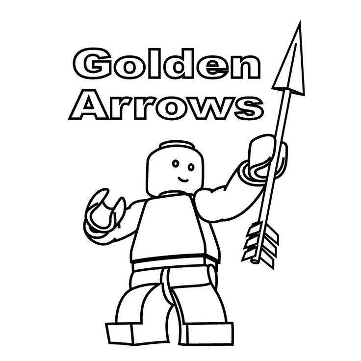 Lego Minifig Template Coloring Coloring Pages
