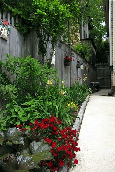Garden Ideas For Narrow Spaces best 25 small outdoor spaces ideas on pinterest Beautiful Use Of A Small Narrow Space Shade Landscapinglandscaping Ideasbackyard