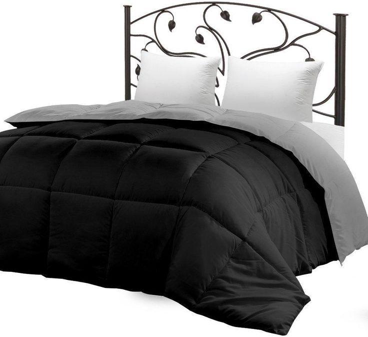 Down Alternative Reversible Comforter All Season Duvet Insert, Queen Comforters  #UtopiaBedding #Modern #comforters
