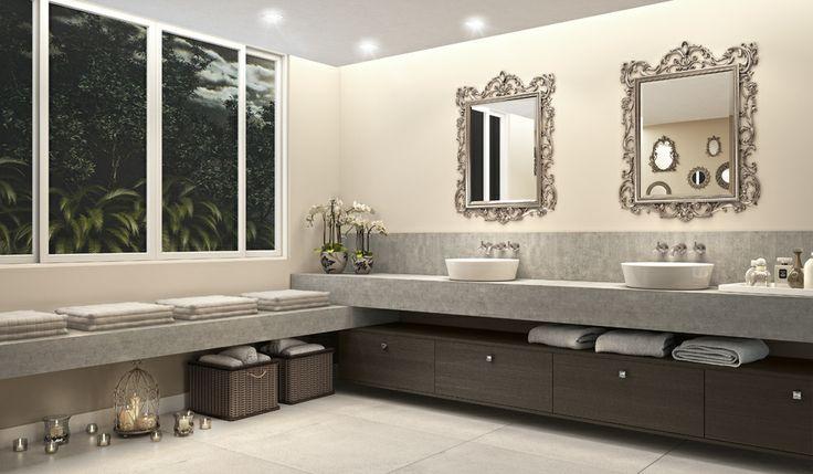 Água que lava, água que purifica, sutileza cristalina revive o passado em ambientes inspirados.