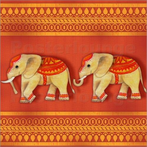 Kathrin Strassek - indian elephants