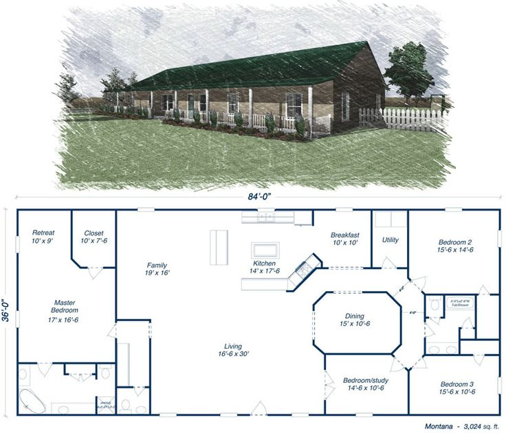 Best 25 metal house plans ideas on pinterest for Simple barn home plans