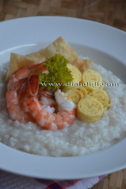 Diah Didi's Kitchen: Bubur Udang Gurih