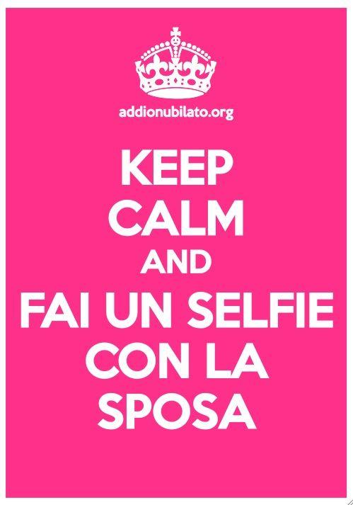 Keep Calm per addio al nubilato #addioalnubilato #addionubilato