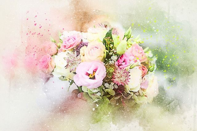 Free Image on Pixabay - Flowers, Bouquet, Art, Abstract