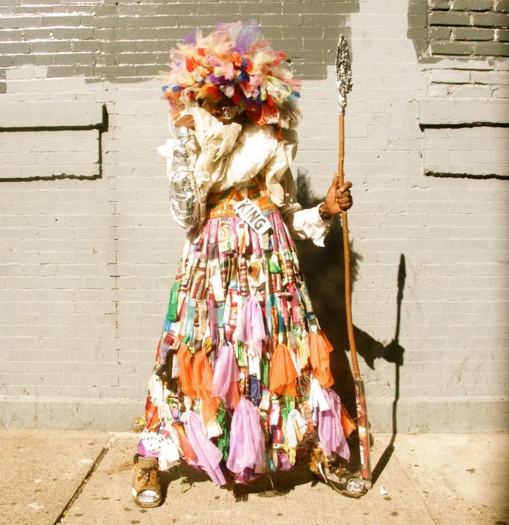 'Parade King 2011 Harlem, NYC.'