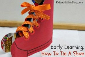 Early Learning: How To Tie A Shoe - Kids Activities Blog