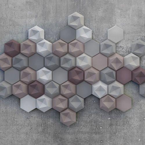 fliese f r innenbereich f r au enbereich wandmontage aus beton poliert edgy by tanja. Black Bedroom Furniture Sets. Home Design Ideas