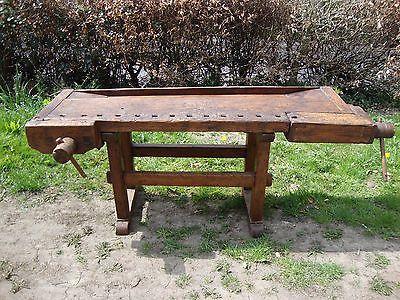 Old Carpenters work bench | eBay