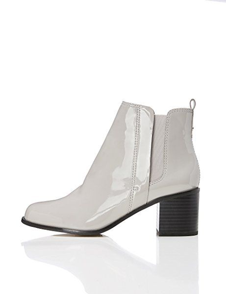 FIND Damen Ankle-Boots, Grau (LT GREY), 41 EU
