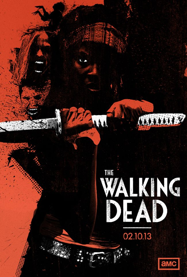 Alternate Posters for The Walking Dead           by Laz Marquez         (Source: brain-food)