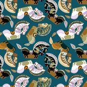 Kuda Kepang, Javanese Horses by ravenous