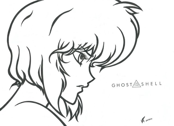 GHOST IN THE SHELL by PauloJuniorX on DeviantArt