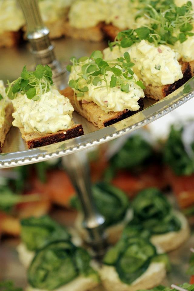 Finger Sandwiches | Fun Finger Foods & Snacks | Pinterest