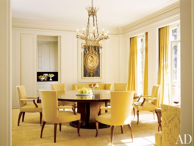 Modern Dining Room by Barbara Barry by ArchitecturalDigest   AD DesignFile - Home Decorating Photos   Architectural Digest