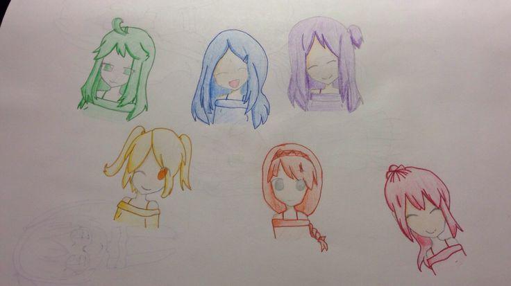 #animehairstyle #kidsdrawing #princessangelique