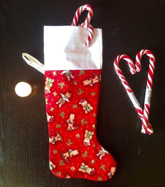 Christmas stockingchristmas sockstocking di LaTanaDiOtto su Etsy
