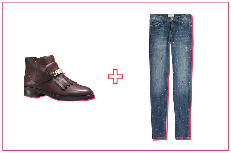 The Best Ankle Boot & Jean Pairings, Period #refinery29 http://www.refinery29.com/ankle-boots-with-jeans#slide-7