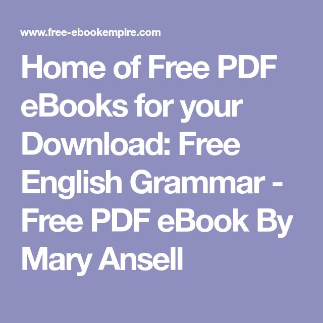 Best 25 english grammar book pdf ideas on pinterest english home of free pdf ebooks for your download free english grammar free pdf ebook fandeluxe Image collections