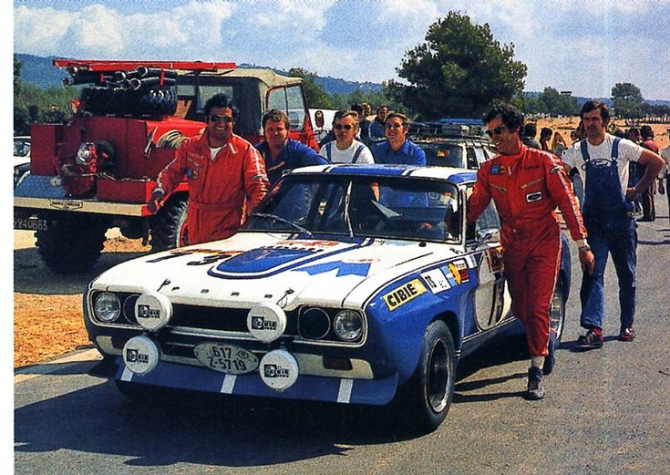 Dieter Glemser Ford Capri RS 2600 Tour de France