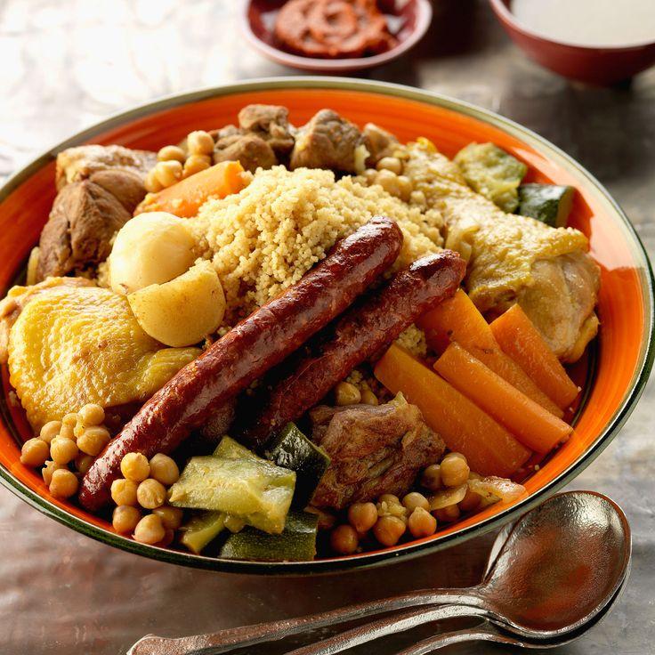 Découvrez la recette couscous tunisien sur cuisineactuelle.fr.