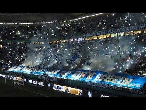 https://youtu.be/8cu-TdzBNho Choreo flashlight Ultras Schalke! FC Schalke 04 - VfL Wolfsburg (07.02.2018)  #MatchAmbience #Ultras #Hooligan #FCSchalke #VfLWolfsburg #Germany #ACAB #AwayDays #Casual #Choreo #Culture #Derby #Fans #Fight #Football #Police #Pyro #Respect #RIOTS #Supporter #Terrace #Tifo #Supporter