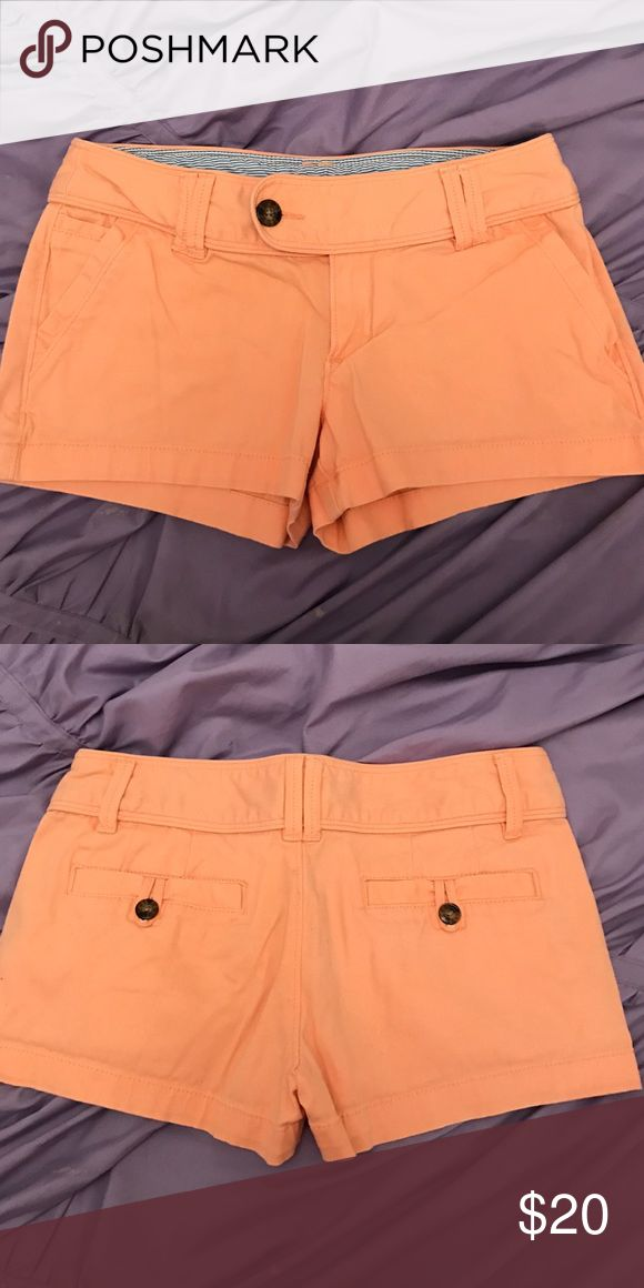 Peach red camel shorts EUC Red Camel Shorts