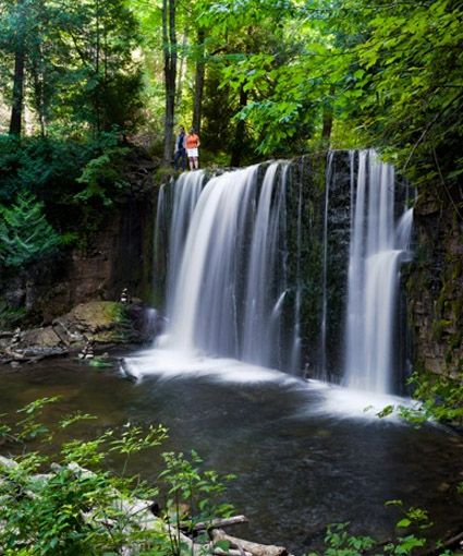 Grey Bruce Adventure » Blog Archive » A Four-Waterfall Autumn Day