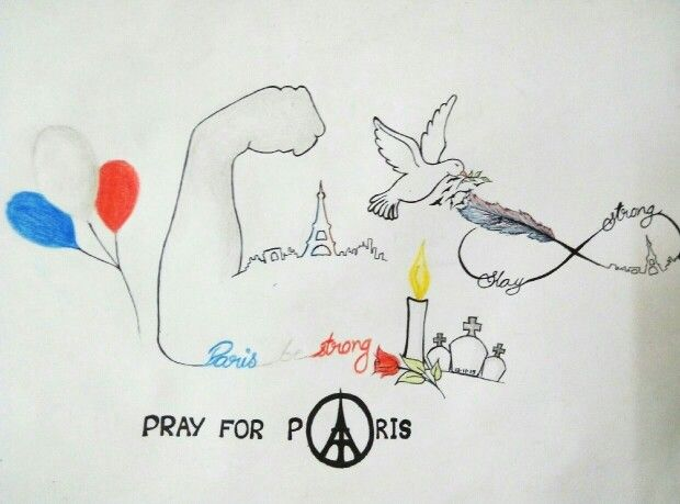 Paris be strong we all are with you