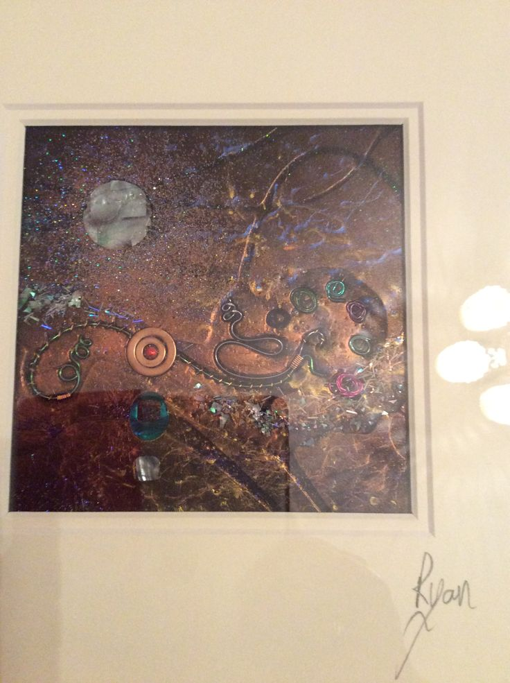Bought this piece of art by Robert Ryan at an art exhibition at the Music Hall in Aberdeen.