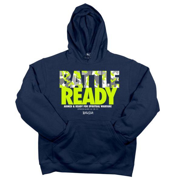 Battle Ready Hooded Sweatshirt