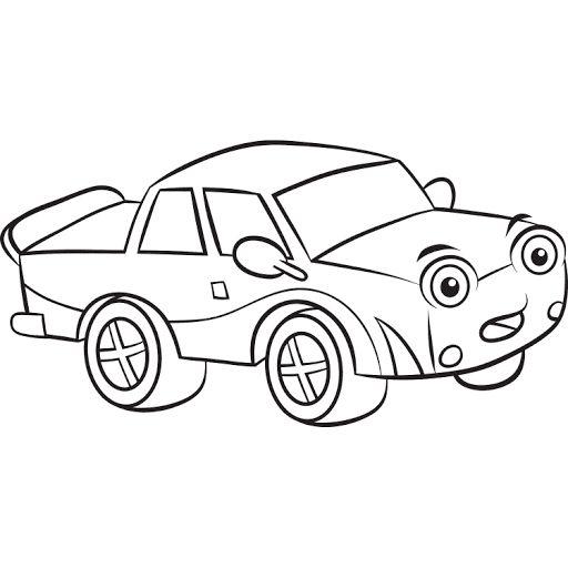 Mewarnai Gambar Mobil Balap Warna Mobil Balap Gambar